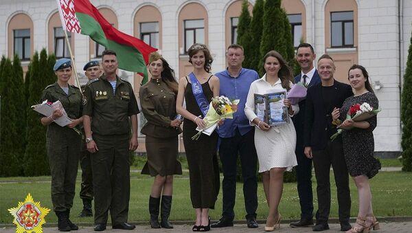Самую красивую десантницу выбрали в Беларуси - Sputnik Беларусь