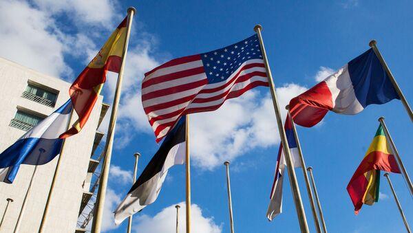 Флаги стран-участниц ЮНЕСКО, архивное фото - Sputnik Беларусь