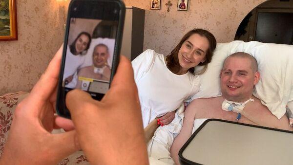 Гимнастка Катя Галкина исполнила мечту парализованного парня - Sputnik Беларусь