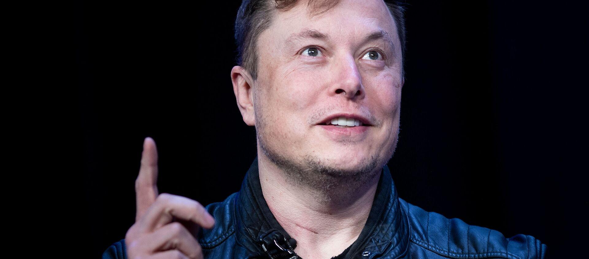 Гендиректор SpaceX Илон Маск - Sputnik Беларусь, 1920, 13.02.2021