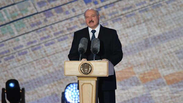 Александр Лукашенко на празднике Александрия собирает друзей - Sputnik Беларусь