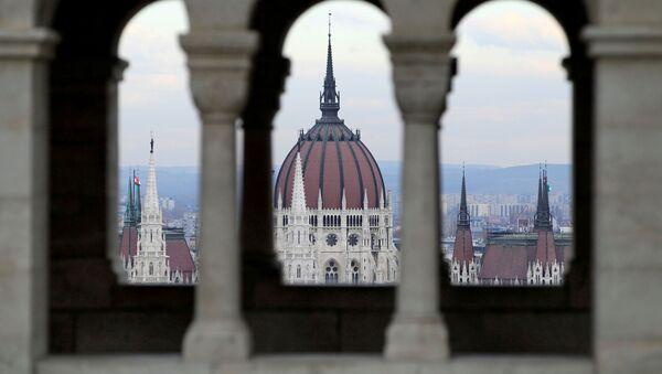 Вид парламента Венгрии - Sputnik Беларусь