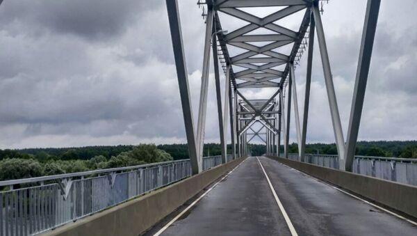 Мост праз Сож - Sputnik Беларусь