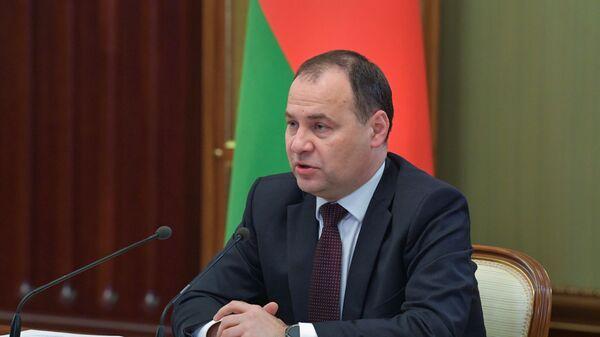 Прэм'ер-міністр Рэспублікі Беларусь Раман Галоўчанка - Sputnik Беларусь