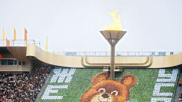 Торжественное открытие XXII Олимпийских игр в Москве 19 июля 1980 года - Sputnik Беларусь