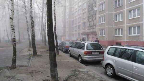 Место преступления в Мозыре - Sputnik Беларусь
