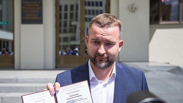 Кандидат в президенты Беларуси Сергей Черечень - Sputnik Беларусь