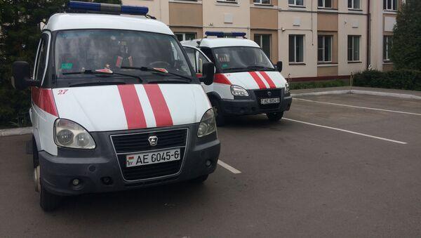 Сейчас сотрудники скорой помощи Бобруйска обстановкой на станции довольны - Sputnik Беларусь
