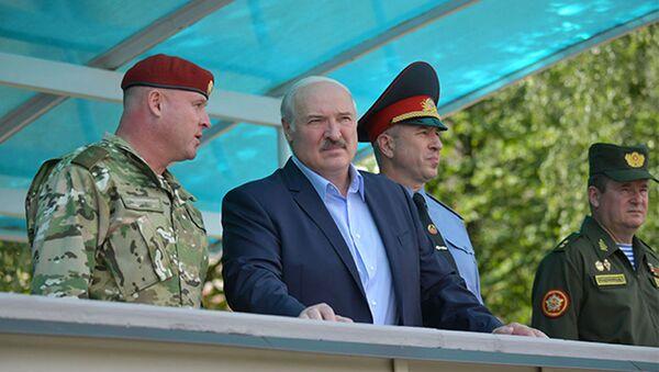 Кіраўнік дзяржавы Аляксандр Лукашэнка - Sputnik Беларусь