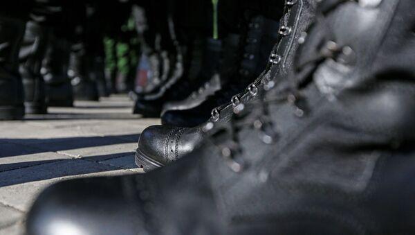 Армейскія берцы, архіўны фотаздымак - Sputnik Беларусь