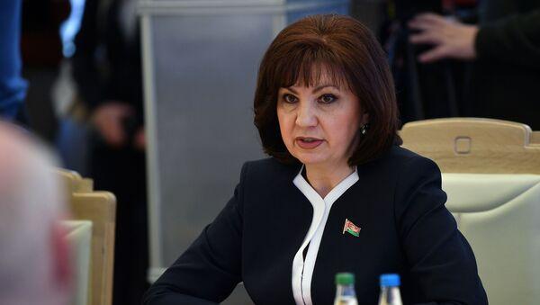Председатель Совета Республики Национального собрания Республики Беларусь Наталья Кочанова - Sputnik Беларусь