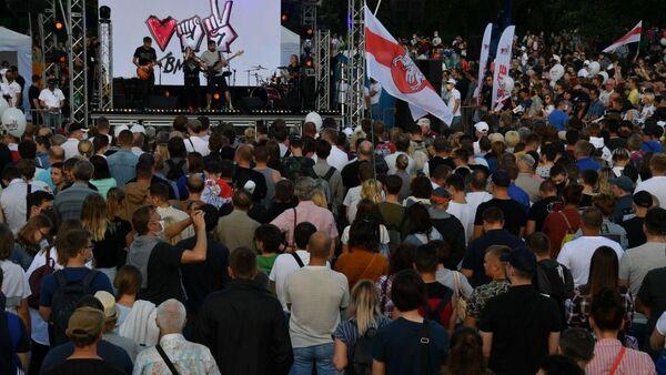 На вечер в парке Дружбы народов запланировано выступление многих музыкальных групп - Sputnik Беларусь