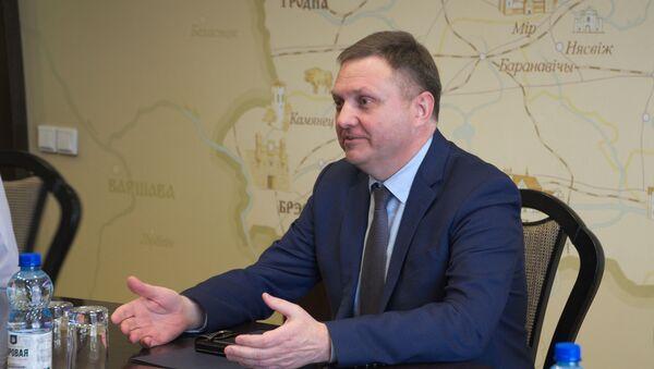 Министр экономики Беларуси Александр Червяков - Sputnik Беларусь