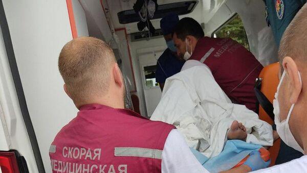 Транспортировка пострадавших в Минск - Sputnik Беларусь