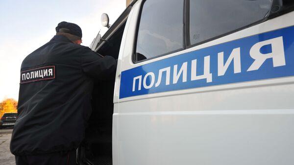Сотрудник полиции в России - Sputnik Беларусь