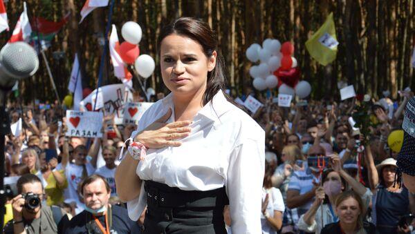 Светлана Тихановская на митинге в Бресте - Sputnik Беларусь