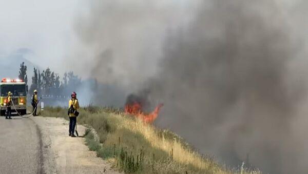 Лесные пожары в Калифорнии - Sputnik Беларусь