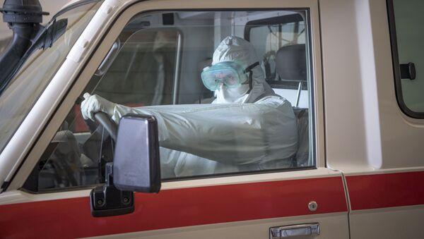 Машина скорой помощи в Марокко, архивное фото - Sputnik Беларусь