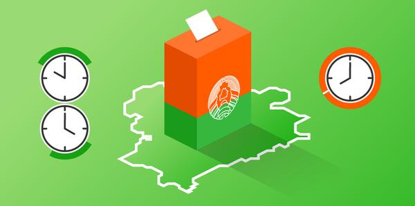 Президентские выборы – 2020: время работы участков для голосования | Инфографика sputnik.by - Sputnik Беларусь