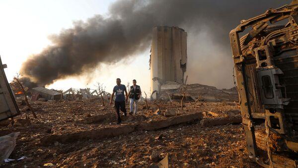 Взрыв в Бейруте - Sputnik Беларусь