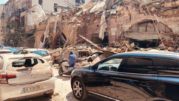 Последствия взрыва в Ливане - Sputnik Беларусь