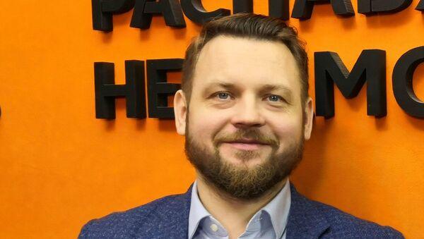 Импрессарио, музыкальный и театральный продюсер Александр Чаховский - Sputnik Беларусь