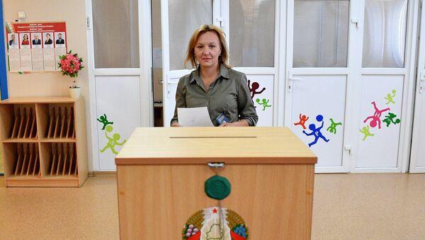 Датэрміновае галасаванне на выбарах прэзідэнта 2020 у Мінску - Sputnik Беларусь