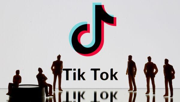 Логотип сети TikTok - Sputnik Беларусь