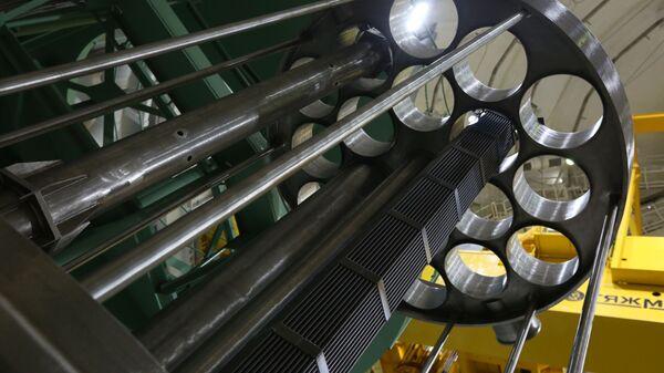 На першым энергаблоку Беларускай АЭС пачалася загрузка ядзернага паліва // Photo / прэс-служба Дзяржкарпарацыі Расатам - Sputnik Беларусь