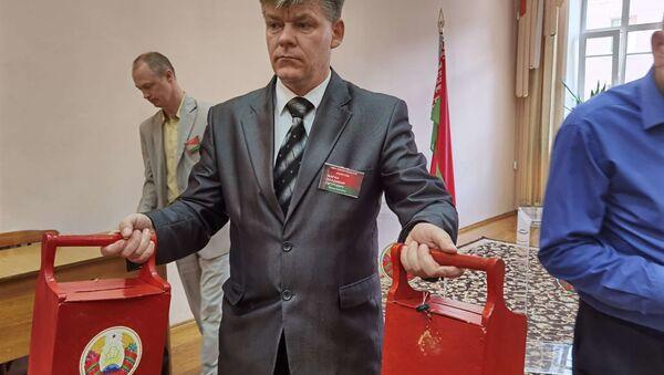 Опечатанные урны - Sputnik Беларусь