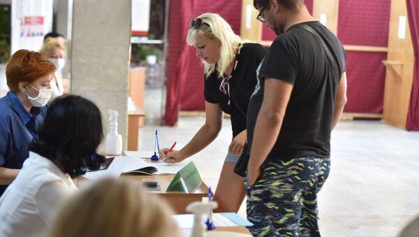 К участку 41 в Гомеле приписано 1247 избирателей - Sputnik Беларусь