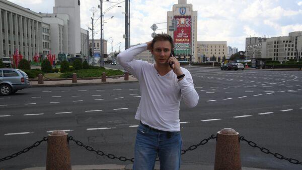 Корреспондент Sputnik Евгений Олейник - Sputnik Беларусь