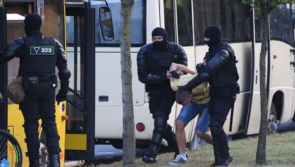Задержания в Минске в понедельник - Sputnik Беларусь