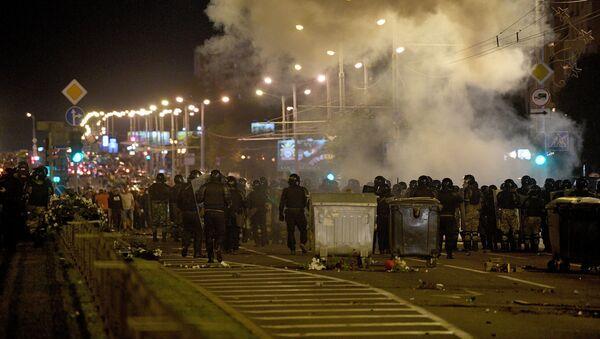 Протесты в Минске, день 2 - Sputnik Беларусь
