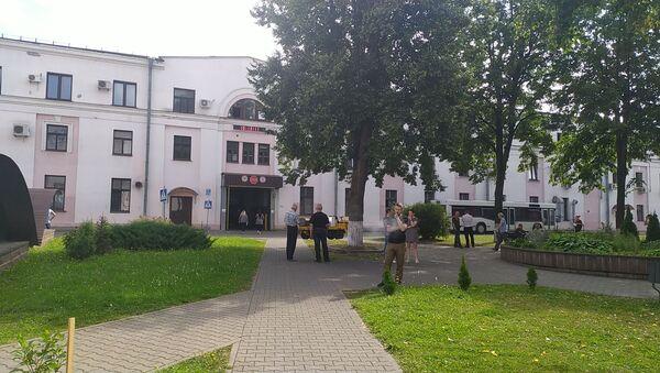 Ряд рабочих завода имени Козлова пытались митинговать 11 августа - Sputnik Беларусь