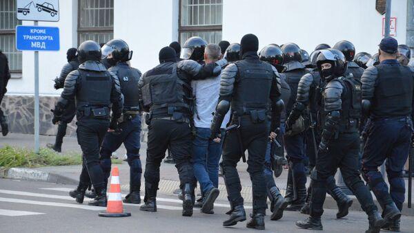 Протесты в Бресте 11 августа - Sputnik Беларусь