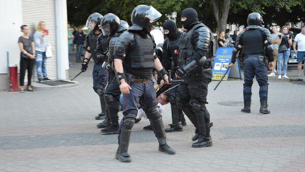 Протесты в Бресте 10-11 августа - Sputnik Беларусь