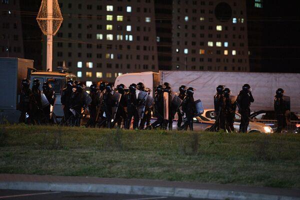 Протесты в Минске, день 3 - Sputnik Беларусь