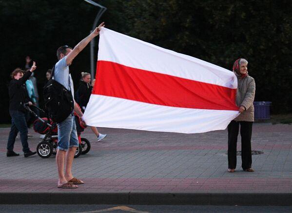 Третий день протестов в Минске - Sputnik Беларусь