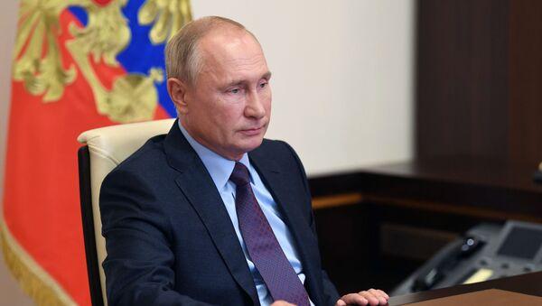 Пуцін абвясціў аб рэгістрацыі Спутник V - расійскай вакцыны ад COVID-19 - Sputnik Беларусь
