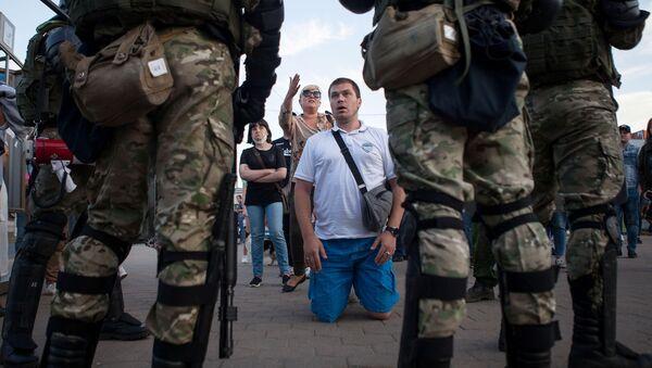 Акции протеста в Минске - Sputnik Беларусь
