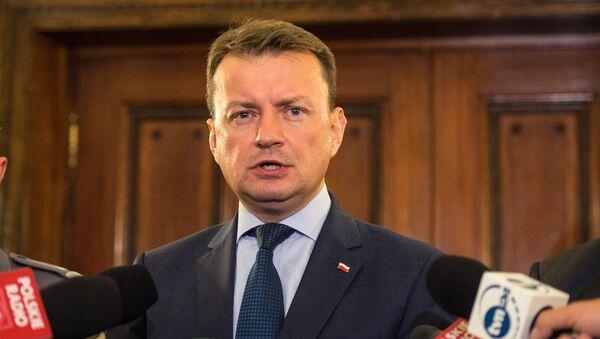 Міністр абароны Польшчы Марыюш Блашчак - Sputnik Беларусь
