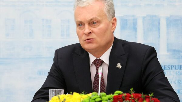Президент Литвы Гитанас Науседа - Sputnik Беларусь