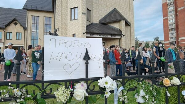 Католический Костел Иисуса милосердного в Витебске дал убежище участникам акции Стоп насилие - Sputnik Беларусь