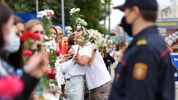Мирная акция протеста в Гомеле - Sputnik Беларусь