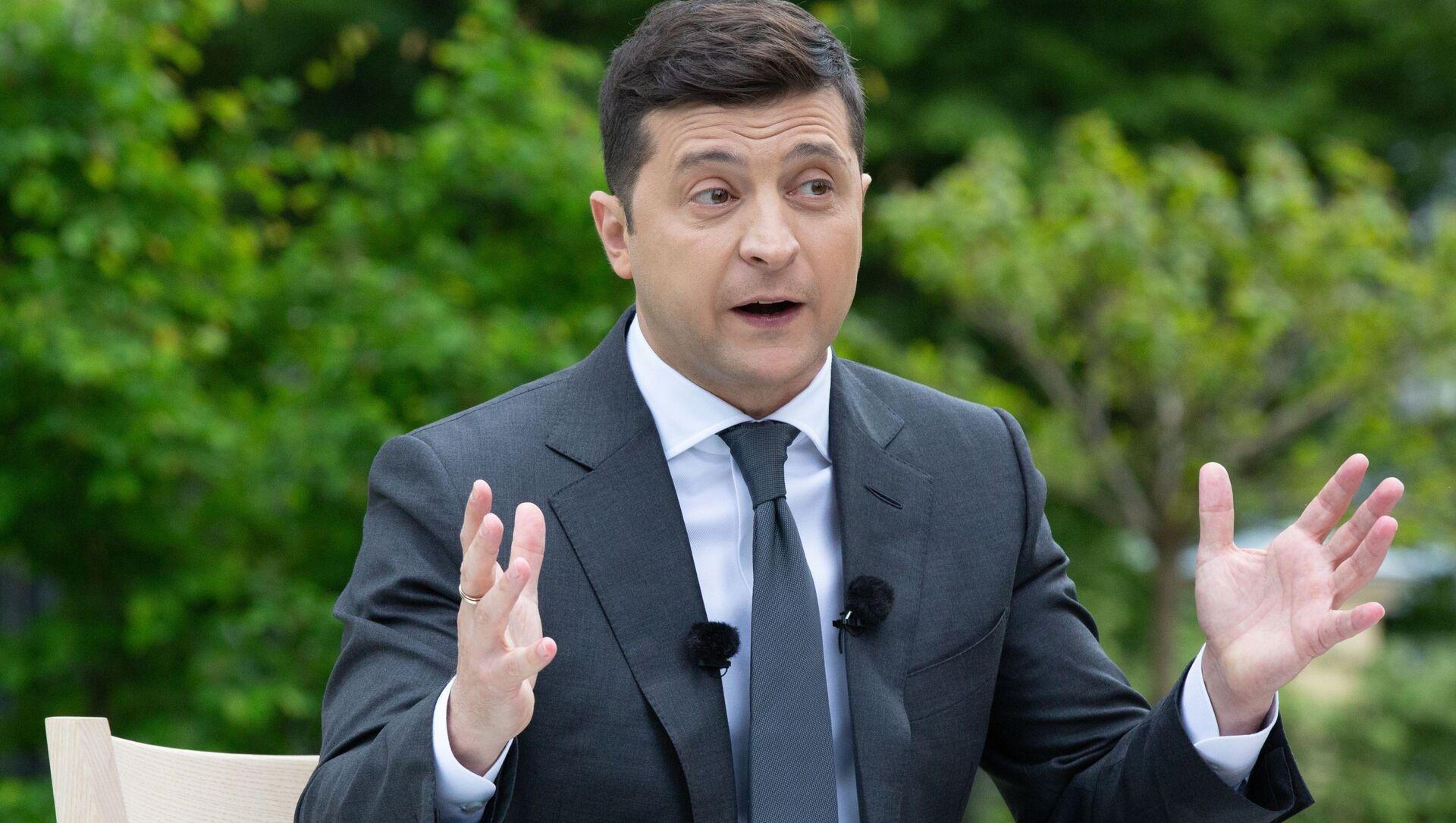 Президент Украины Владимир Зеленский - Sputnik Беларусь, 1920, 03.02.2021