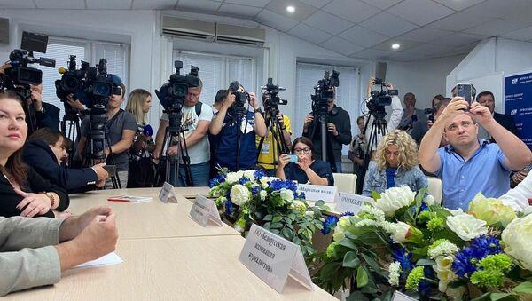 Встреча журналистом с главой Мининформа Игорем Луцким - Sputnik Беларусь