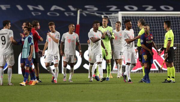 Матч 1/4 финала Лиги чемпионов Барселона - Бавария - Sputnik Беларусь