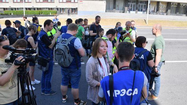 Представители СМИ - Sputnik Беларусь