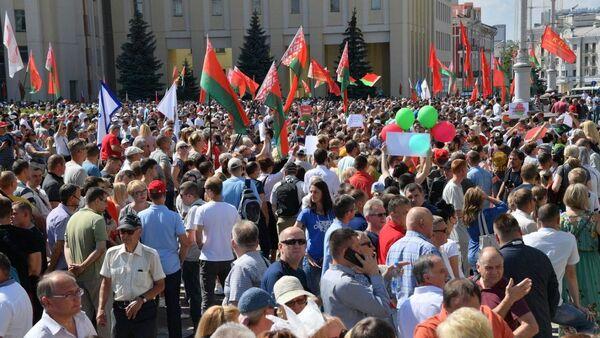 Митинг на площади Независимости - Sputnik Беларусь